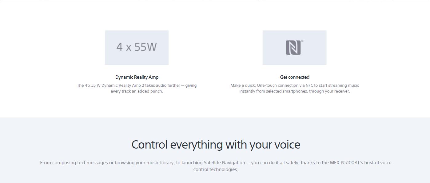 Sony Bluetooth CD Player (MEX-N5100BT) | SK Customs Car Audio & Home