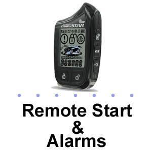 Remote Start & Alarms