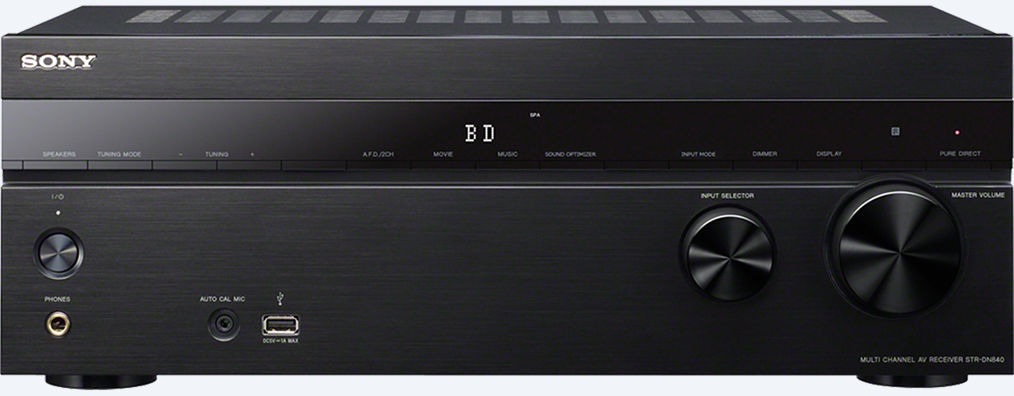 Sony 7 2 Channel Home Theater AV Receiver (STR-DN840) | SK